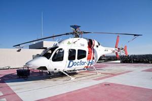 聖隷三方原病院に常駐するドクターヘリ