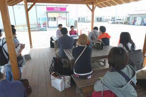 熊本で開催したペット災害危機管理士(R)1級で元熊本市動物愛護飼育委員の講話を聴講する受講生たち