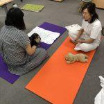 アニマルアロマ通学講座プライベートレッスンのマッサージ実技練習